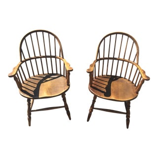 Stickley Brothers Windsor Chairs - Pair