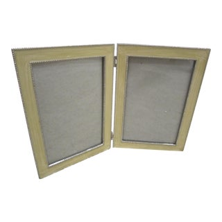 Double Enamel Picture Frame