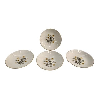 "Vintage Soup Bowls Knowles ""Sun Light"" - Set of 4"