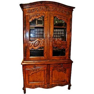 French Country Buffet à Deux Corps Hutch