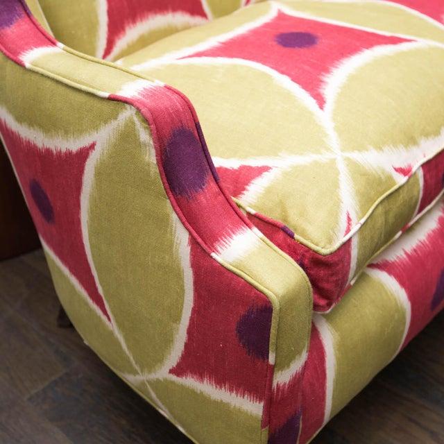 Custom Upholstered Down-Filled Loveseat - Image 7 of 9