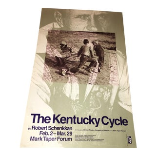 "1992 ""The Kentucky Cycle"" Original Poster"