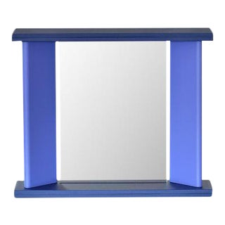 "Marco Zanini for Marutomi Blue ""You Again"" Mirror"