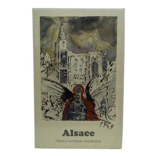 """Vintage """"Alsace"""" Salvador Dali Poster"""