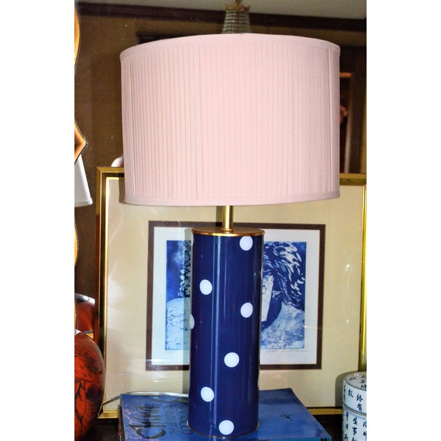 Kate Spade Blue Dot Table Lamp - Image 4 of 6