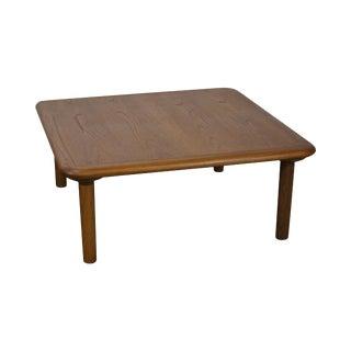 Danish Modern Square Teak Coffee Table