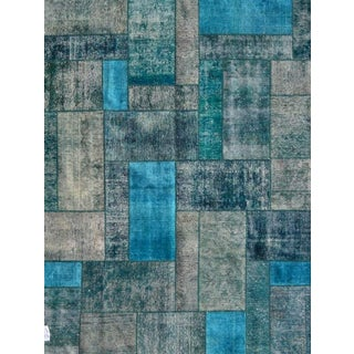 "Pasargad Patchwork Collection Rug - 6'9"" X 8'4"""