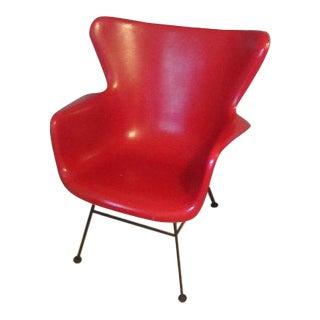Peabody Vintage Fiberglass Arm Chair
