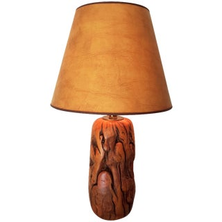 California Tamarisk Hand-Turned Lamp
