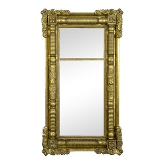 Classical Gesso Pier Mirror