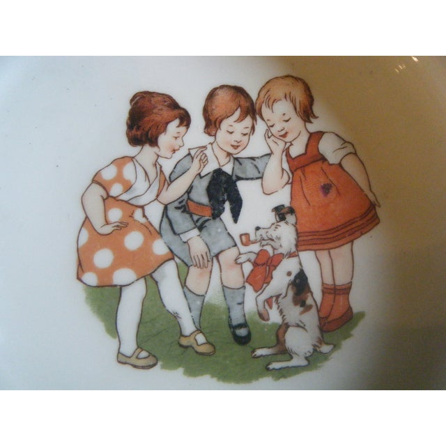 Vintage 1940s Children's Alphabet Bowl - Image 3 of 6
