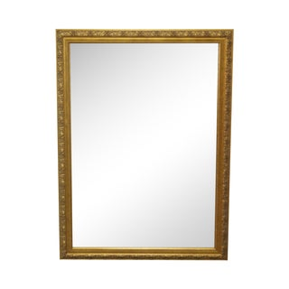 Gold Frame Beveled Wall Mirror by Carolina Mirror