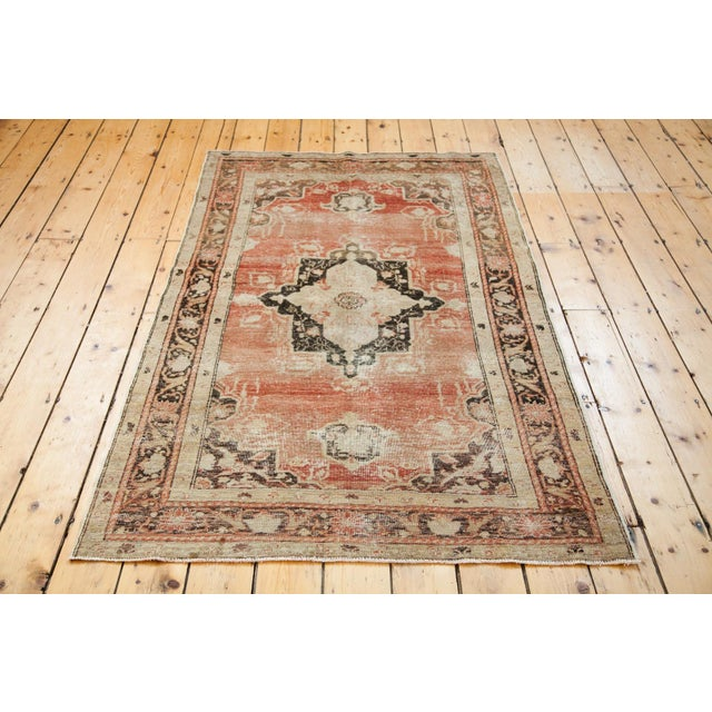 "Distressed Oushak Rug - 4' X 6'10"" - Image 6 of 6"