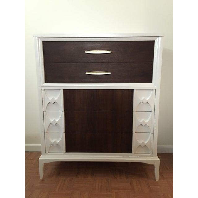 Image of Reworked Mid Century Modern Tall Dresser