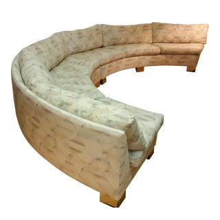 Thayer Coggin Custom Circle Sectional