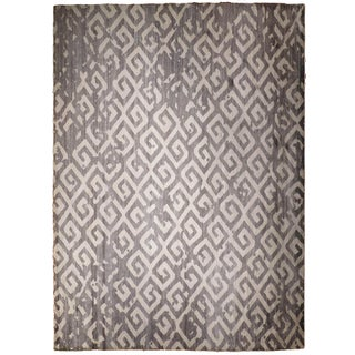 Hand-Knotted Modern Luxury Rug - 9′1″ × 11′9″