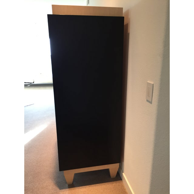 Ash & Wenge Armoire Media Cabinet - Image 3 of 5