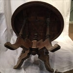 Image of Antique Round Table From Bali