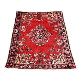 Handmade Persian Lilian Rug - 5″ × 7″