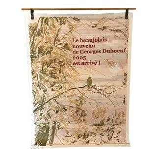 Georges Duboeuf Beaujolais Nouveau Lithograph, 2005