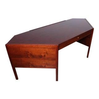 Hexagonal Desk by Edward Wormley for Dunbar