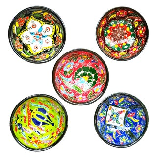 Turkish Tile Bowls - Set of 5