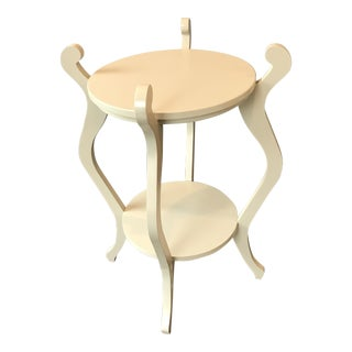 Maine Cottage Fiddlehead 2 Tier End Table