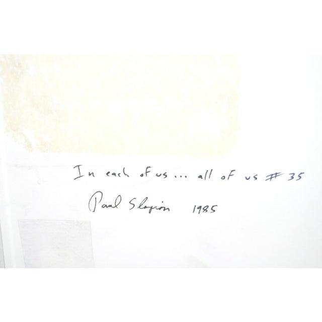 Paul Slapion Mixed Media Painting C.1985 - Image 7 of 7