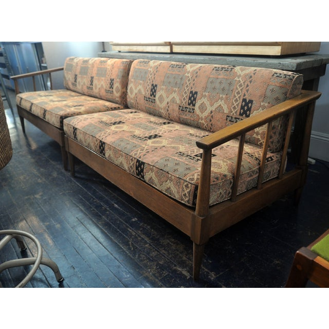 Mid-Century Modern Two-Piece Sectional - Image 4 of 9