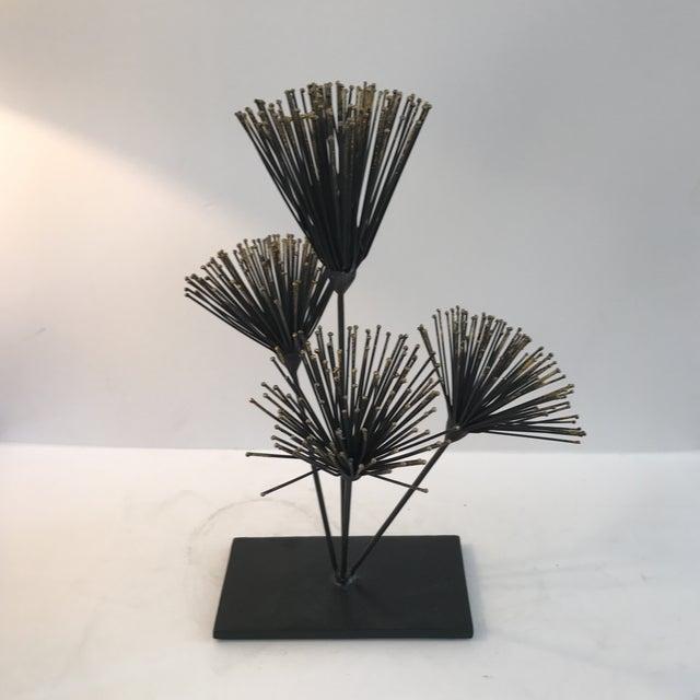 Metal Floral Sculpture - Image 2 of 6