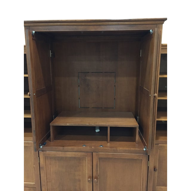 Image of Shermag Traditional Armoire & Two Bookcases