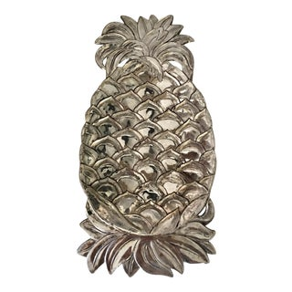 Silverplate Pineapple Key Plate