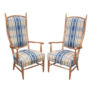 Pair of 1960's Maxwell Royal Chieftain Chairs