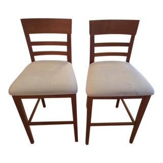Room & Board Custom Dining Stools - A Pair