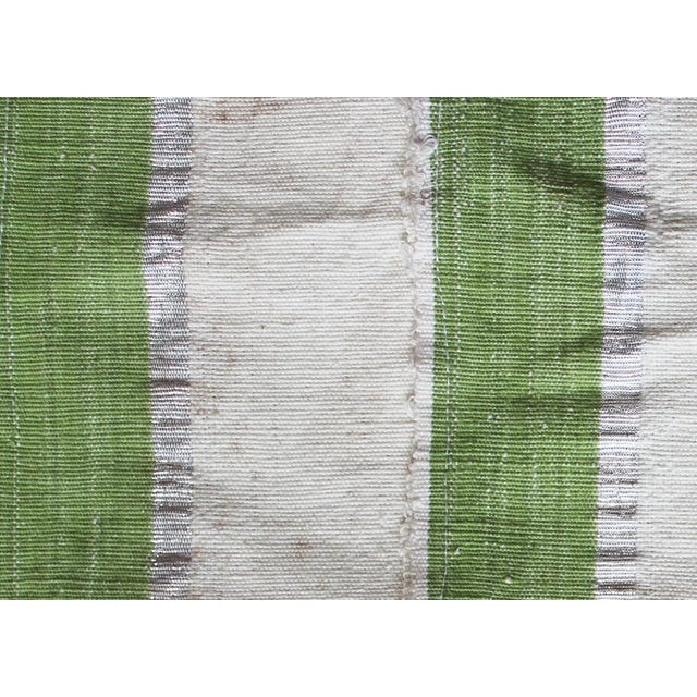 Vintage Striped African Textile - Image 2 of 4