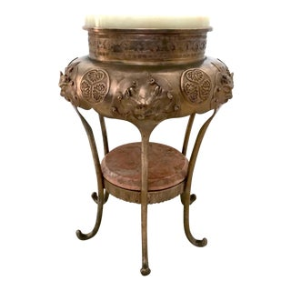 Two Tier Anglo Indian Copper Side Table/Fern Stand