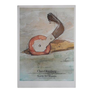 Vintage Poster Lithograph - Claes Oldenburg