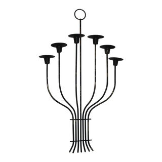 1950s Mid Century Modern Candle Sconce