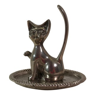 Vintage Cat Ring Tray