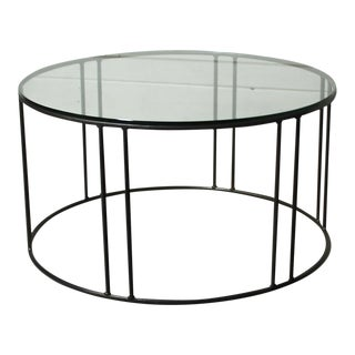 Legend Round Glass Coffee Table