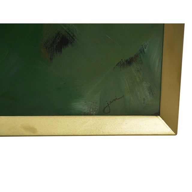Image of Vintage Abstract Oil Painting