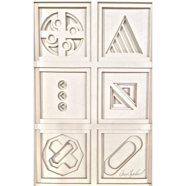 Image of Three Dimensional Paper Sculpture
