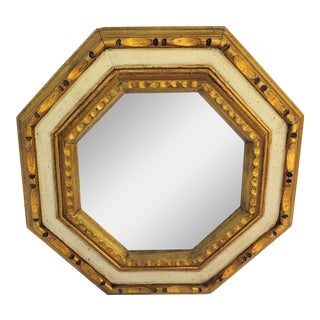 Vintage 1960's Gold Leaf Mirror
