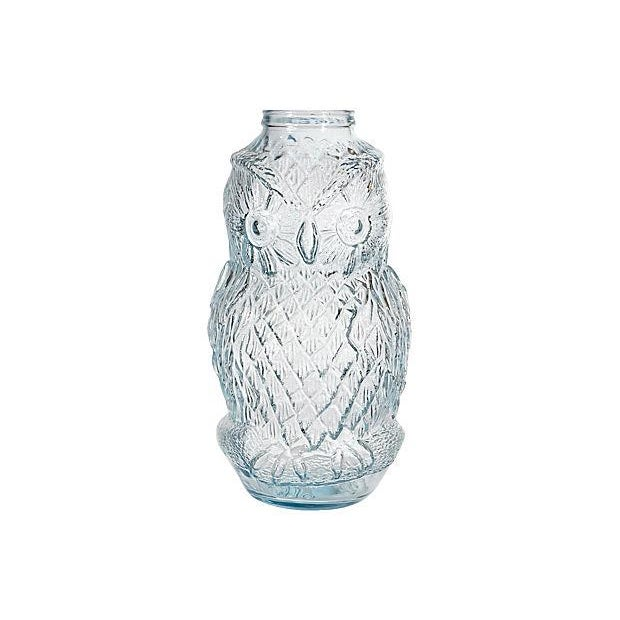 Advertising Large Owl Glass Bank - Image 1 of 6