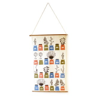 Vintage Astrid Sampe Textile Wall Hanging Almedahl