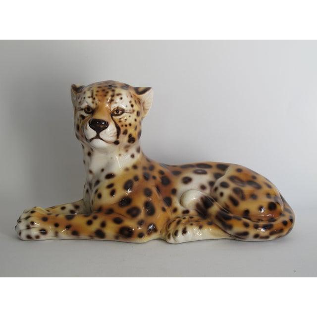 Capodimonte Ceramic Jaguar - Image 2 of 11