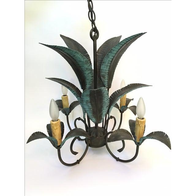 Arte De Mexico Palm Tree Chandelier - Image 2 of 7