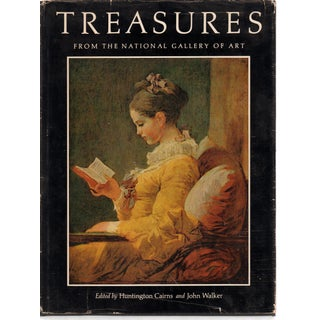 Treasures from National Gallery of Art Book by Huntington Cairns and John Walker