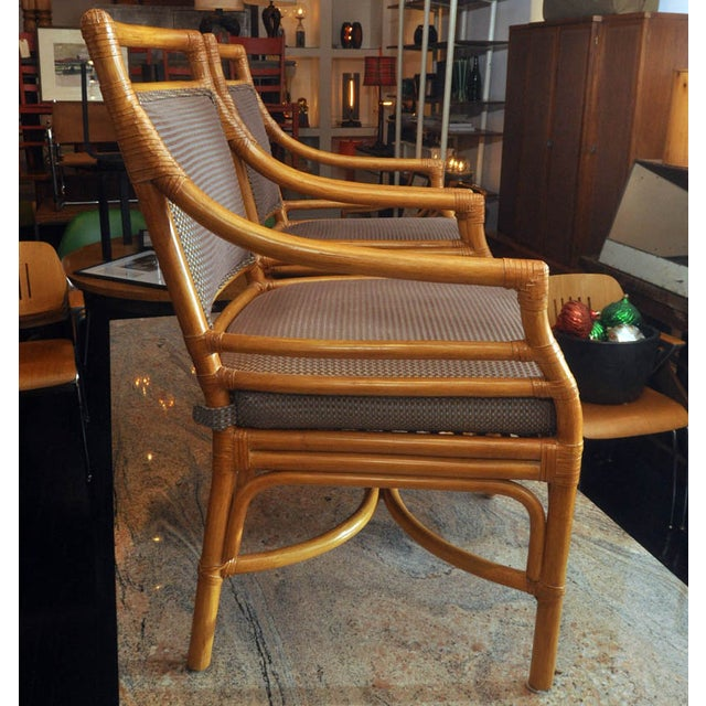 Image of McGuire Arm Chairs