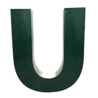 "Capital ""U"" Channel Letter"